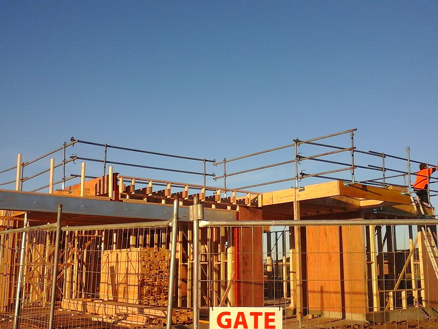 Tiger Scaffold Roof Edge Protection Specialists